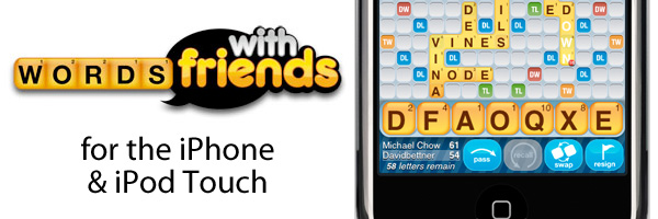 Words With Friends for iPhone & iPod Touch