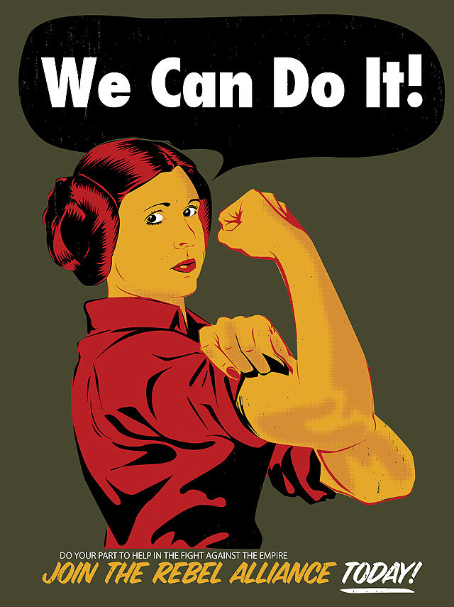 Leia The Riveter