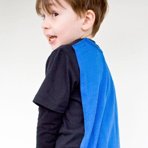 T-Shirt Superhero Cape