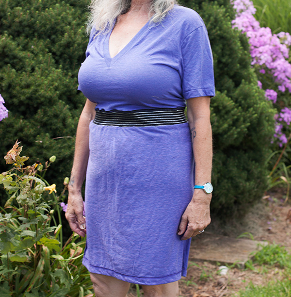 How To Recycle Old T Shirts Into A Dress The Bluecotton Blog