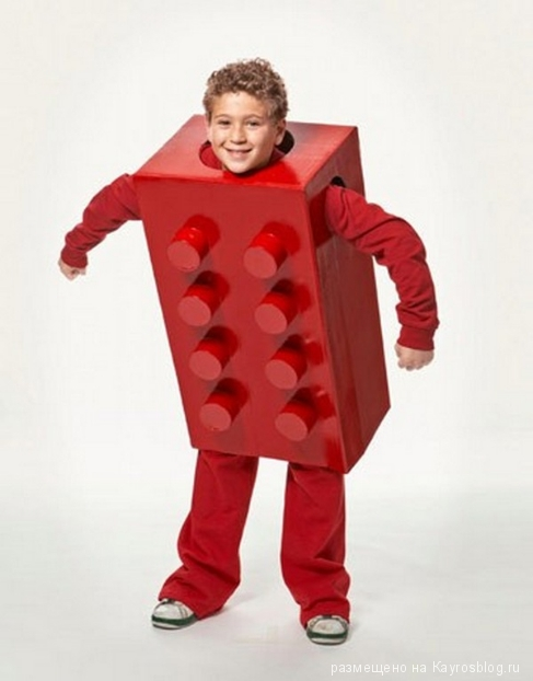 LEGO Block Costume