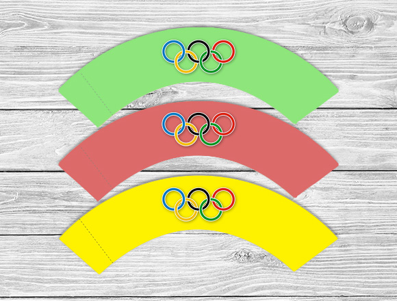 Olympic Cupcake Wrappers
