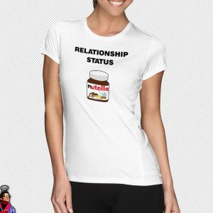 Relationship status: picture of Nutella jar