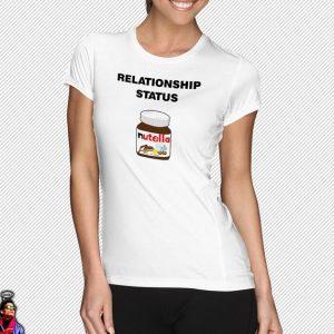 Relationship status: picture of Nutella jar