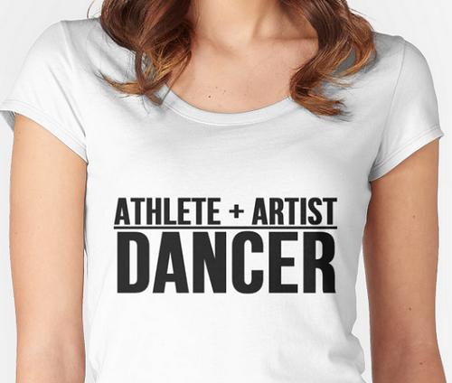 athete plus artist, line break, dancer