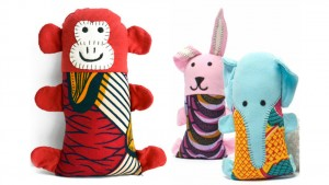 Colorful, plush animal toys for kids from Dsenyo