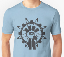 shirt with group 935 logo from Call of Duty