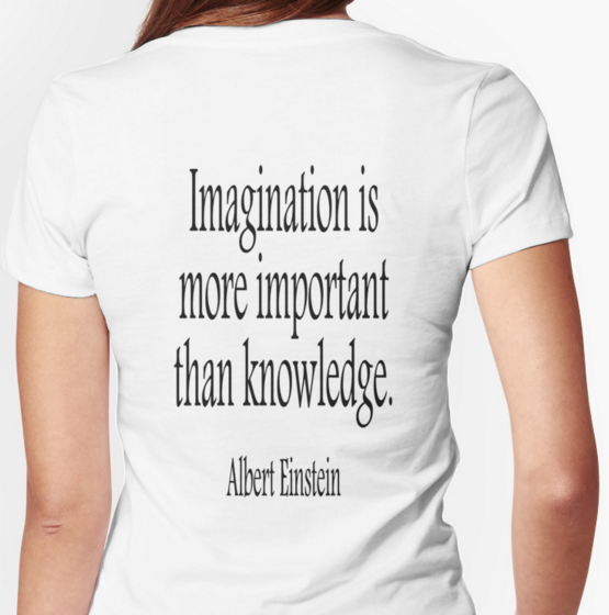 "Quote: ""Imagination is more important than knowledge."" - Albert Einstein"