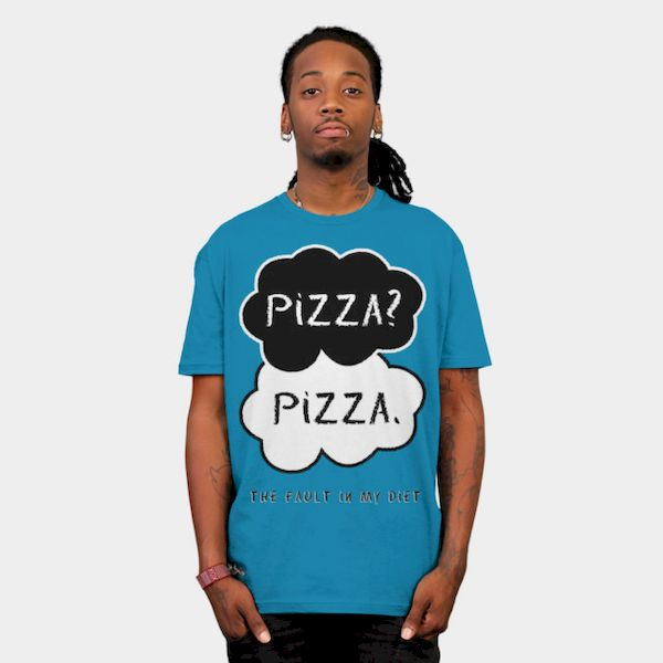 Thoughts of Pizza Shirt