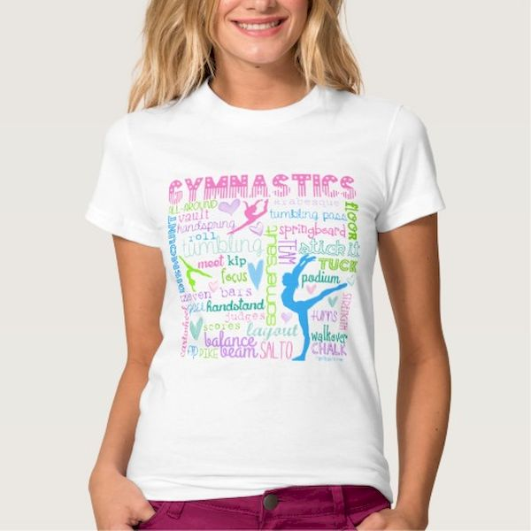 Typography: Colorful Gymnastics