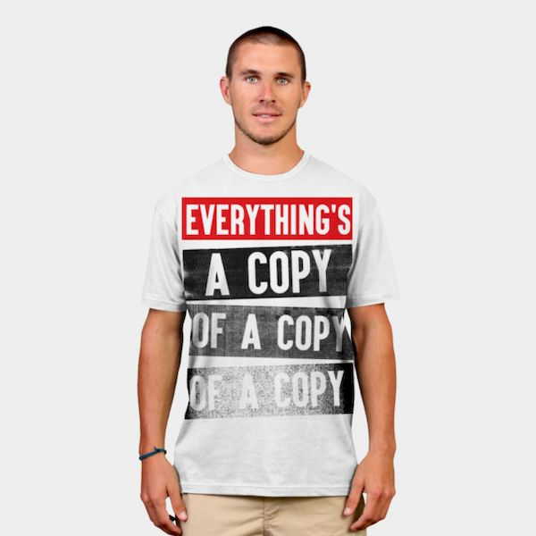 Typography: Copy of a Copy of a Copy