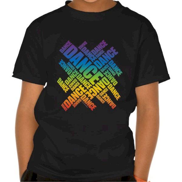 Typography: Rainbow Dance Lettering
