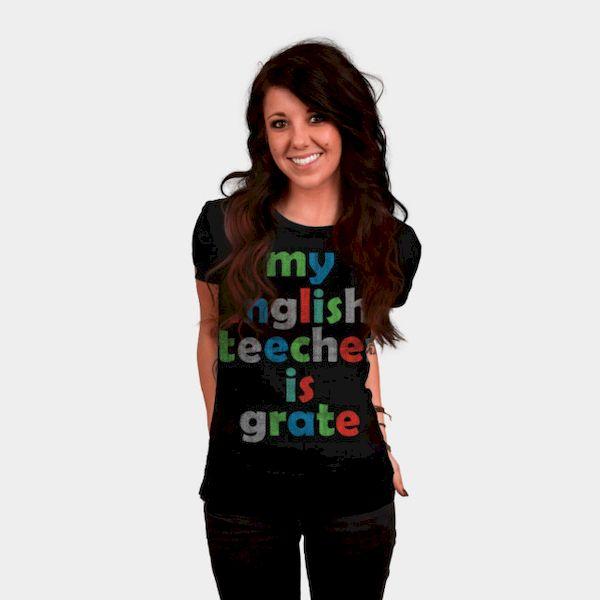 Typography: Ironic English Teacher