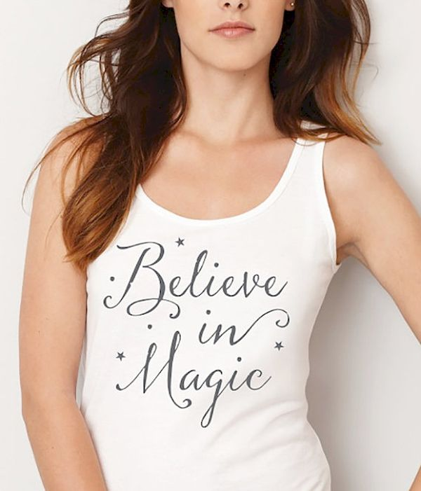Typography: Believe In Magic