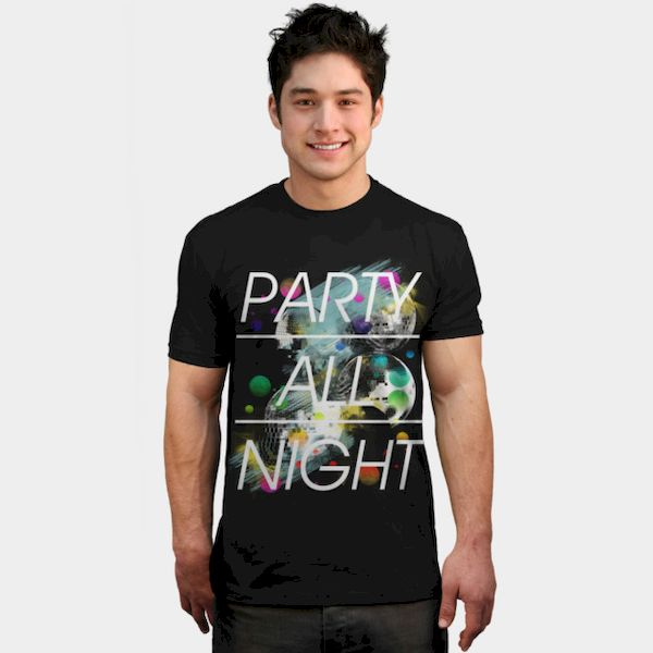 Typography: Party All Night