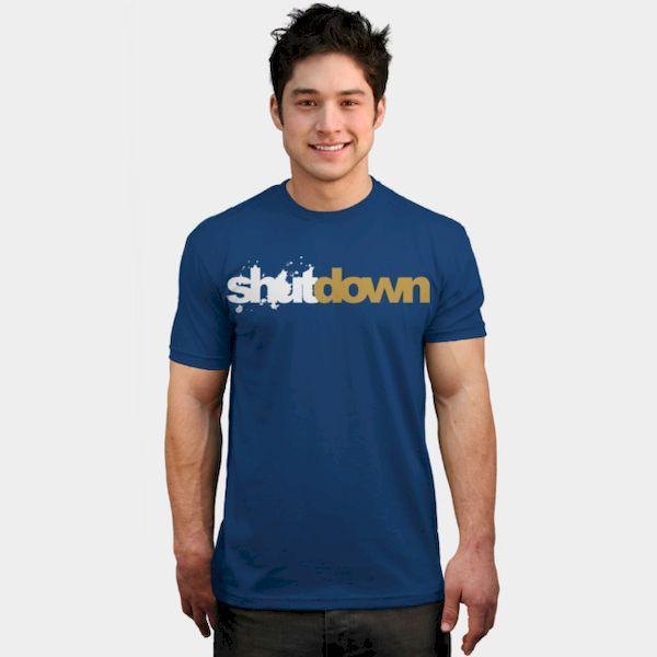 Typography: Shutdown