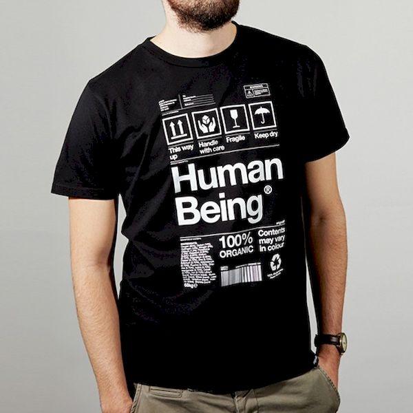 Typography: Human Being Art