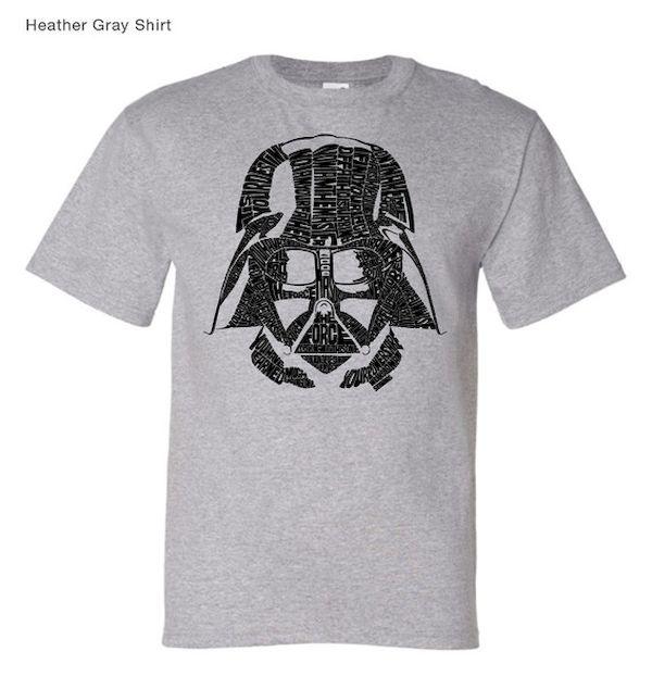 Typography: Typographic Darth Vader