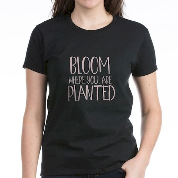 Typography: Bloom Where You Were Planted