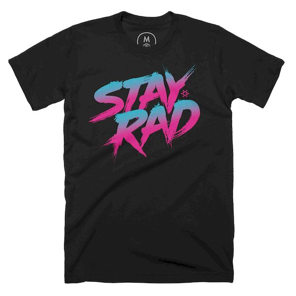 Typography: Stay Rad!