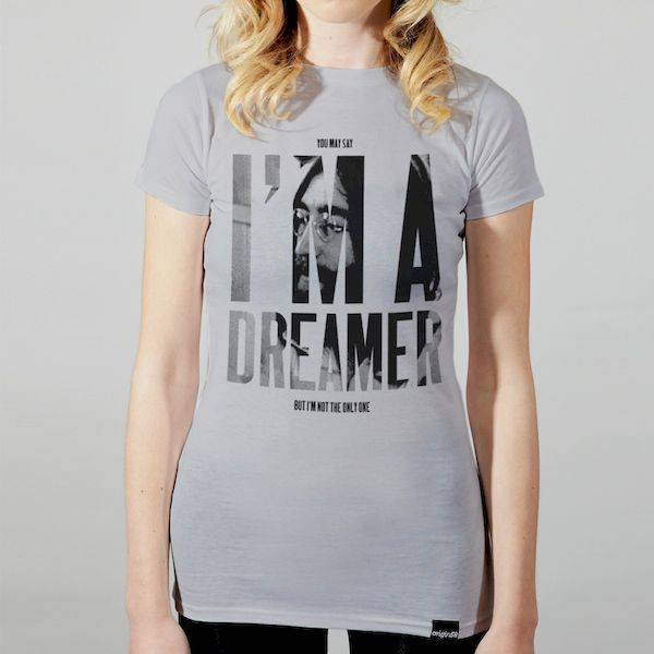 Typography Quote: I'm A Dreamer