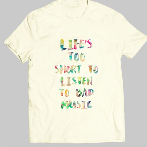 Typography: Good Advice About Bad Music