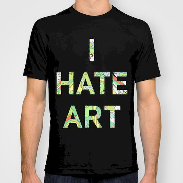 Typography: I Hate Art