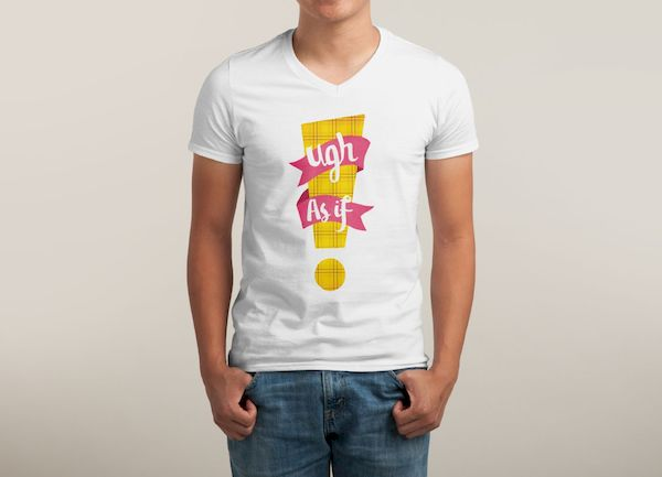 T-Shirt Typographic Disgust
