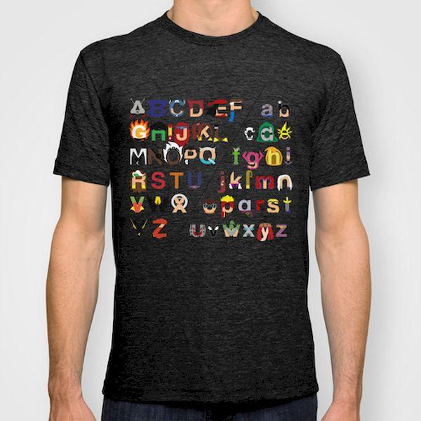Typography: Marvel Hero And Villain Alphabet