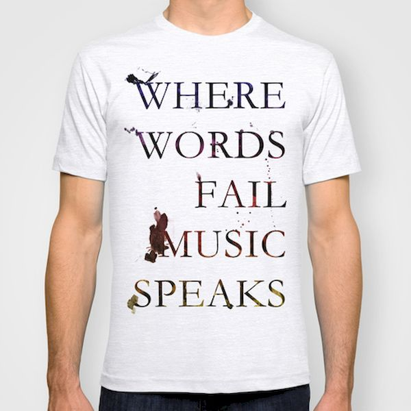 Typography: Music Speaks Louder Than Words