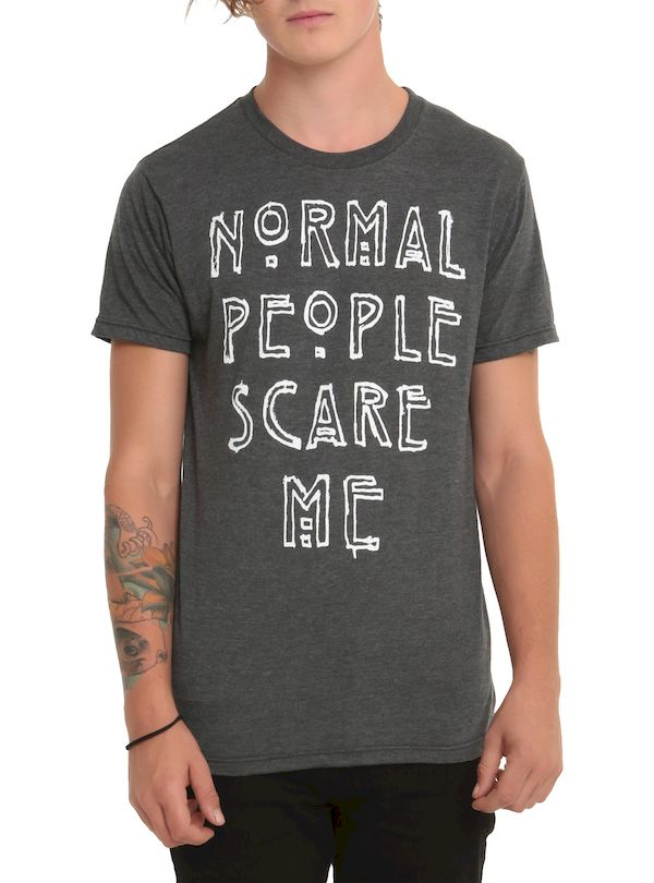Typography: Hot Topic Normal People