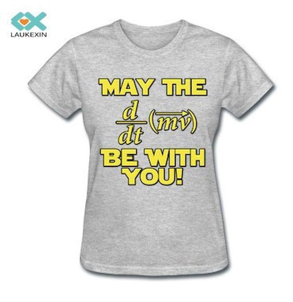 Typography: Star Wars Math Pun