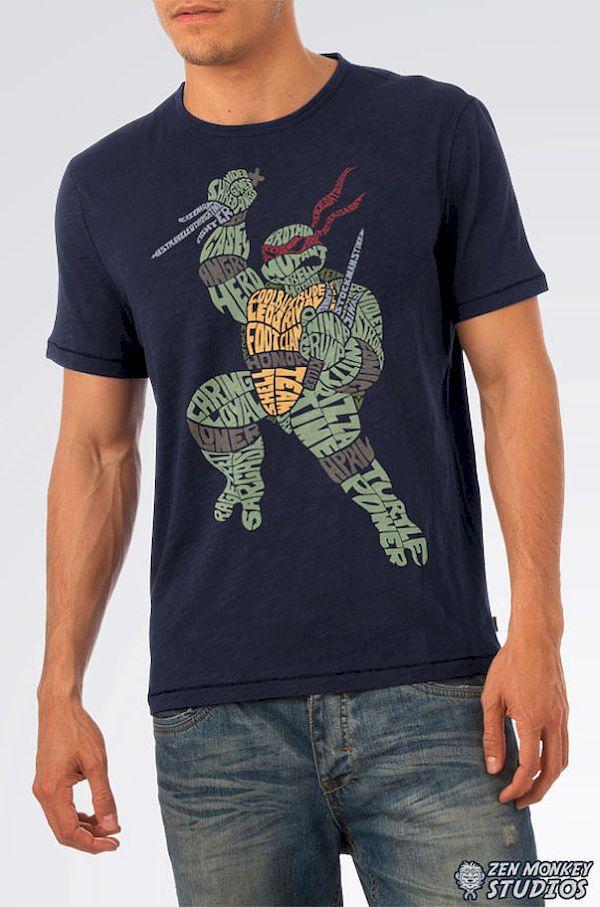 Typography: Teenage Mutant Ninja Turtles