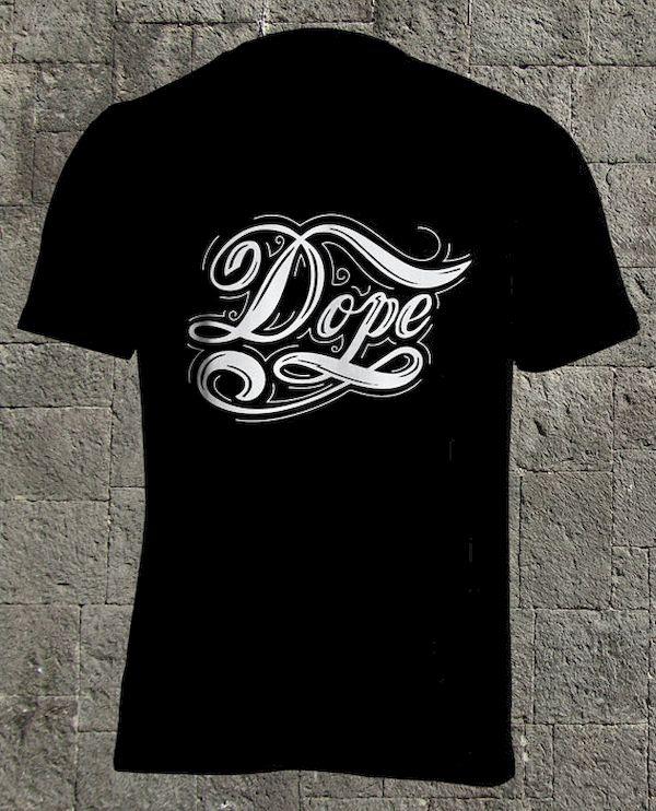 Typography: Stylized Dope
