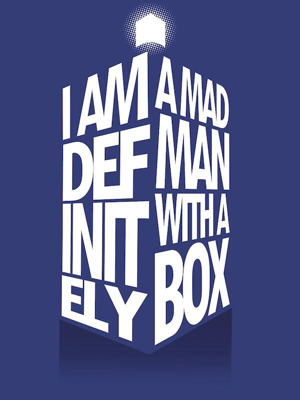 Typography: Another Typographic TARDIS
