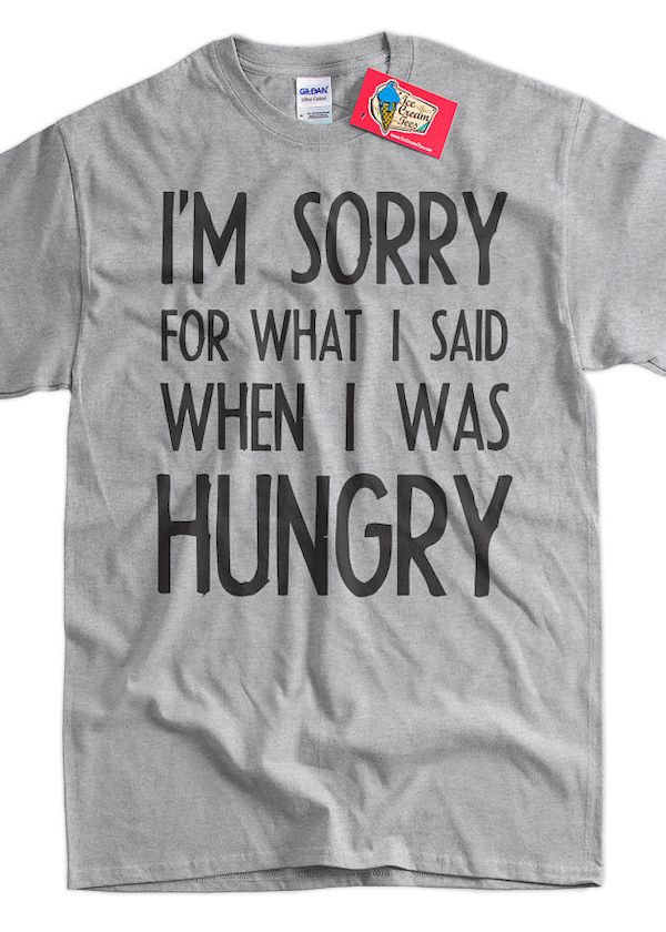 Typography: You're Not You When You're Hungry