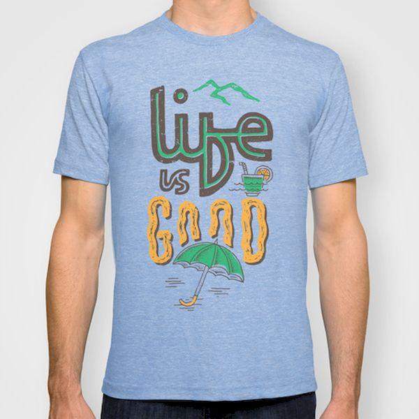 Typography: Life Is Good