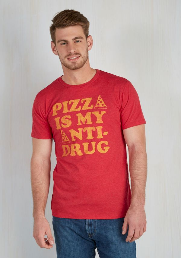 Typography: Pizza, The Anti-Drug