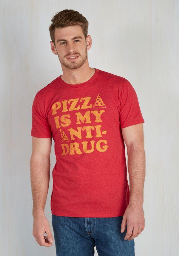 Typography: Pizza, The Anti-Drug