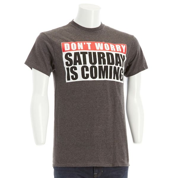 Typography: Saturday Is Coming