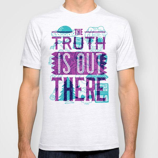 Typography: X-Files Shirt