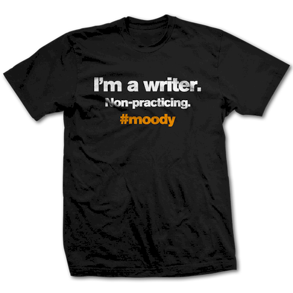 Typography: The Brooding Writer