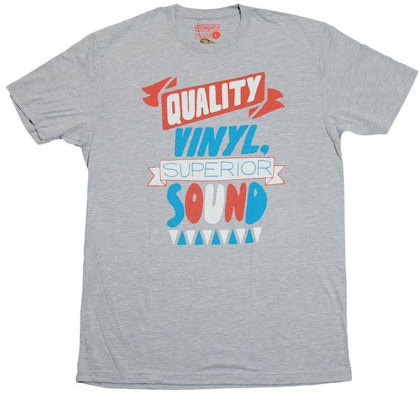 Typography: Quality Vinyl Sound