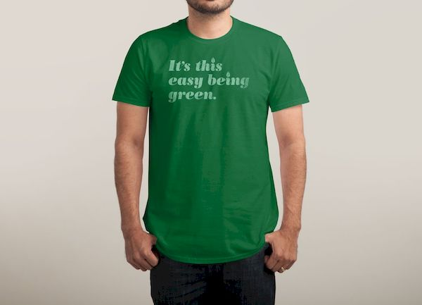 Typography: Easy Being Green