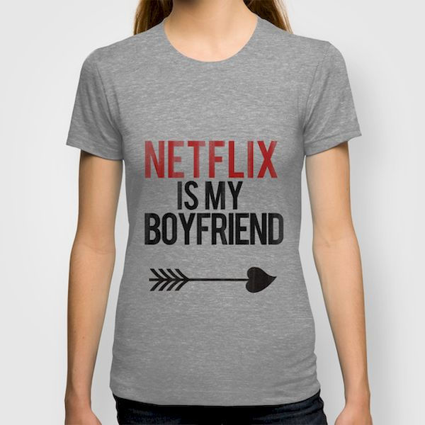 Typography: Netflix Is My Boyfriend