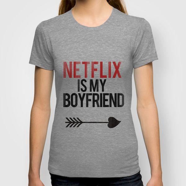 Typography: Netflix Is My Boyfriend