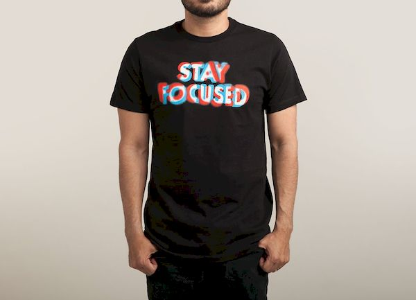 Typography: Blurry Stay Focused