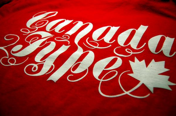 Typography: Canada Hype