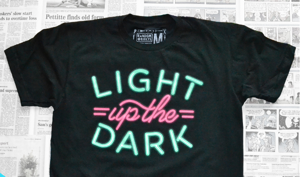 Typography: Light Up The Dark
