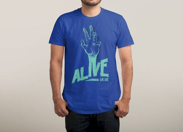 Typography: Zombie Alive
